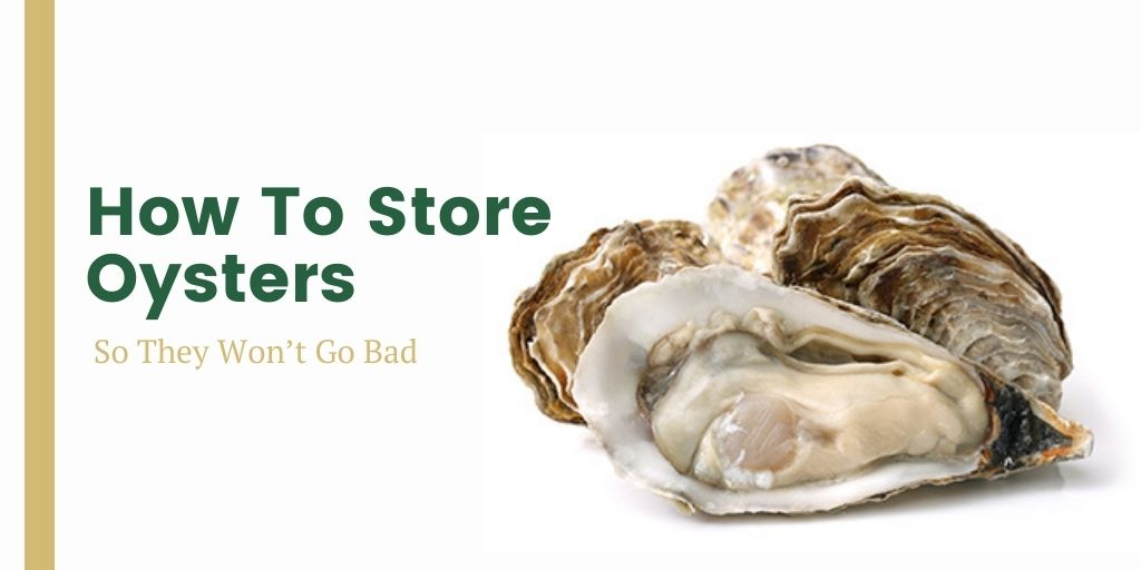 How to store oysters so they won't go bad